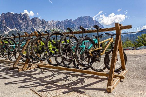 Präsentationsbild Fahrradverleih Bike Park Socrepes