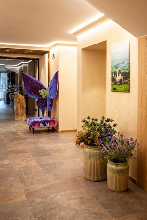The common areas Asiago Sporting Hotel & Spa