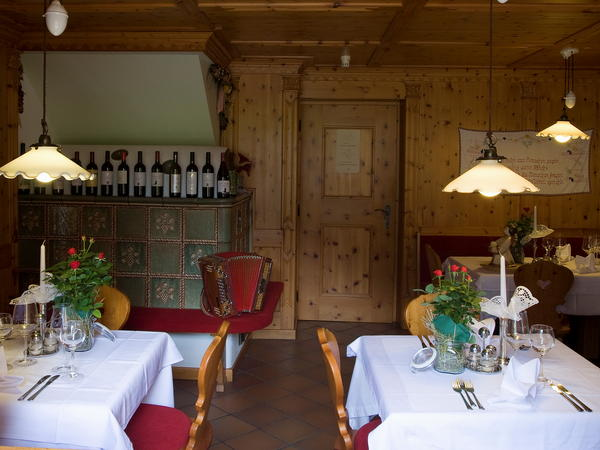 Das Restaurant Antholz Messnerwirt