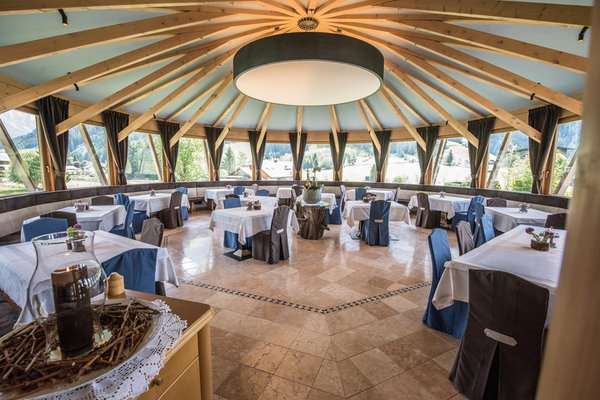 Il ristorante Anterselva Vierbrunnenhof