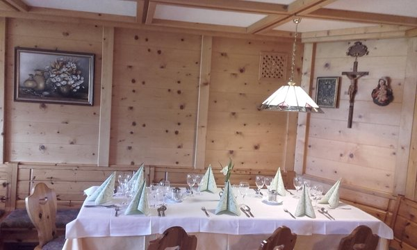 Das Restaurant Antholz Brunner