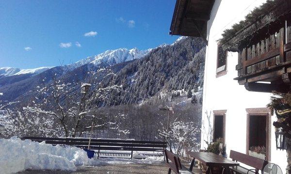 Foto Außenansicht im Winter Brunner