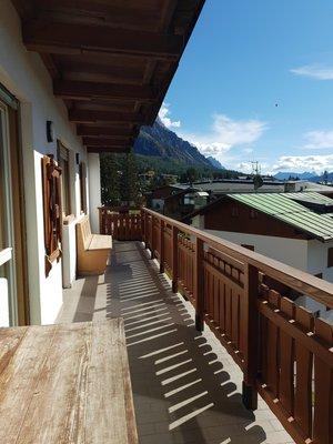 Photo of the balcony De Zanna
