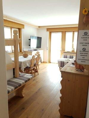 The living area Apartment De Zanna