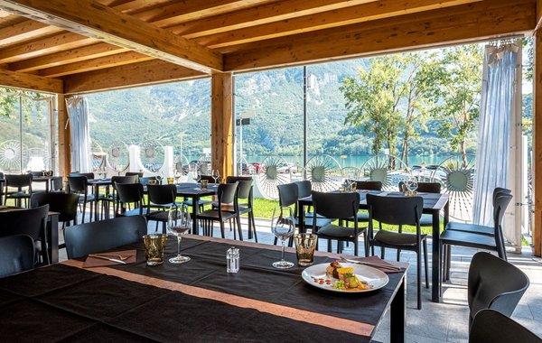 Das Restaurant Trasaghis Trilago