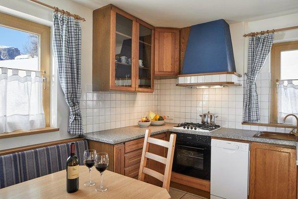Foto der Küche Chalet Alta Badia