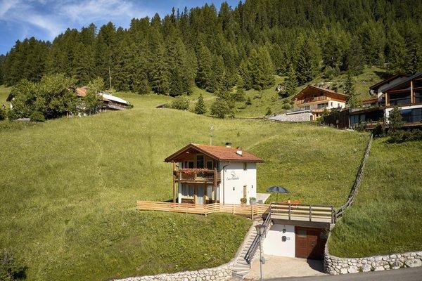 Foto Außenansicht im Sommer Chalet Alta Badia