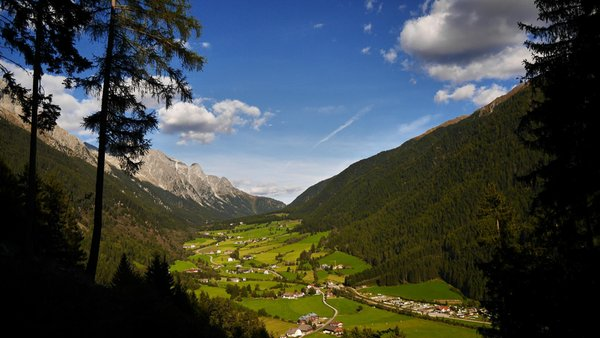 Panoramic view Anterselva / Antholz