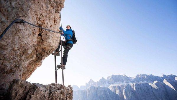 Foto estiva di presentazione Guida alpina Gianni Caronti