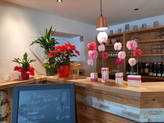 Il ristorante San Vigilio Bistrot Flower