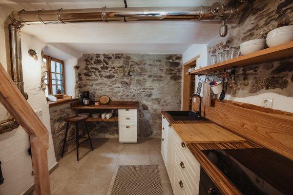 Foto della cucina Chalet Passeier