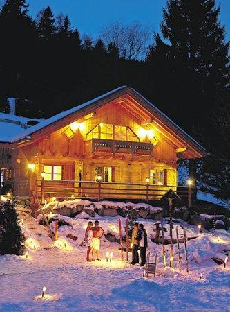 Foto invernale di presentazione Almhotel Lenz