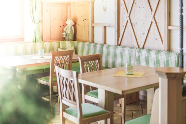 Il ristorante Sorafurcia (Valdaora) Almhotel Lenz