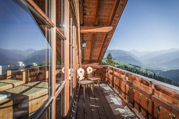 Foto del balcone Almhotel Lenz