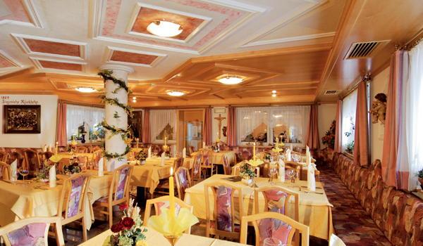 Das Restaurant Mitterolang (Olang) Aichner