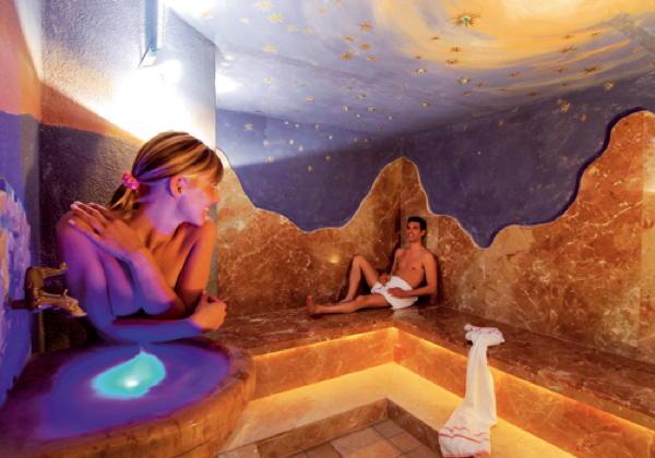 Foto vom Wellness-Bereich Hotel Aichner