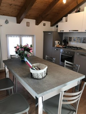 Foto della cucina Angeli Dolomiti House