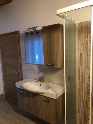 Foto del bagno Appartamento Angeli Dolomiti House