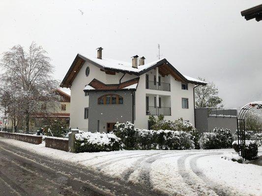 Foto invernale di presentazione Appartamento Angeli Dolomiti House