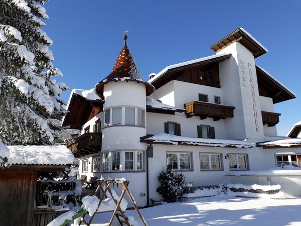 Winter Präsentationsbild Hotel Pörnbacher