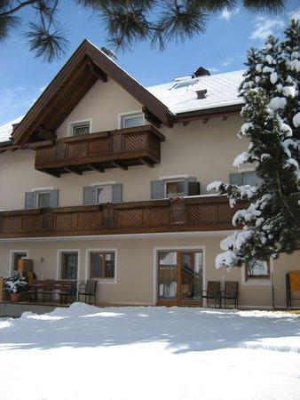 Foto invernale di presentazione Appartamenti Mutschlechner