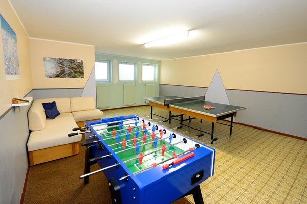 La sala giochi Residence Sigmair
