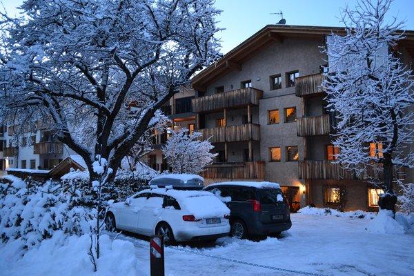 Foto invernale di presentazione Appartamenti Kriendl