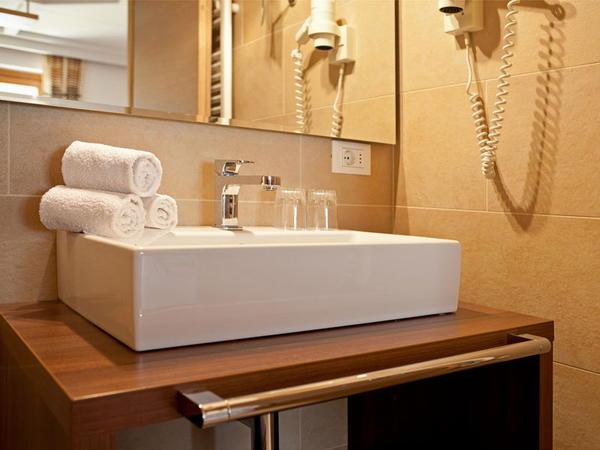 Foto del bagno Appartamenti Kriendl