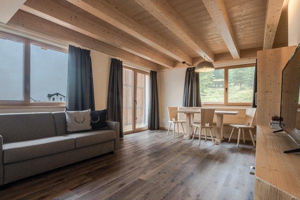 The living area Chalet Alpenrose