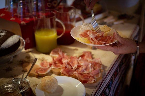La colazione Bed & Breakfast SognoInCadore