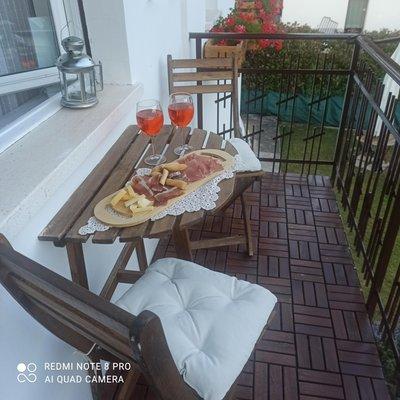 Foto del balcone Villa Anna