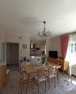 La zona giorno Appartamento Villa Anna