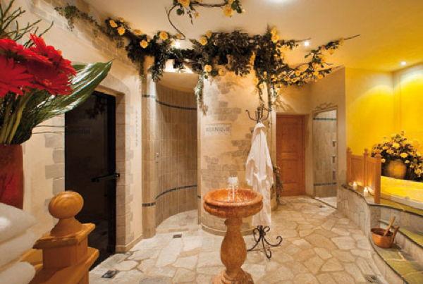 Foto vom Wellness-Bereich Hotel Messnerwirt
