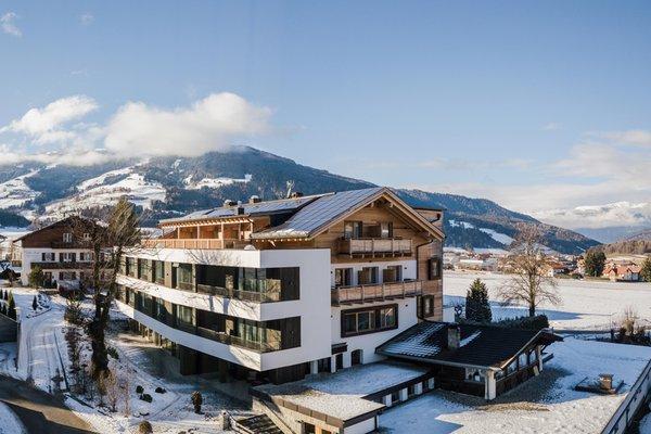 Foto invernale di presentazione Alpinhotel