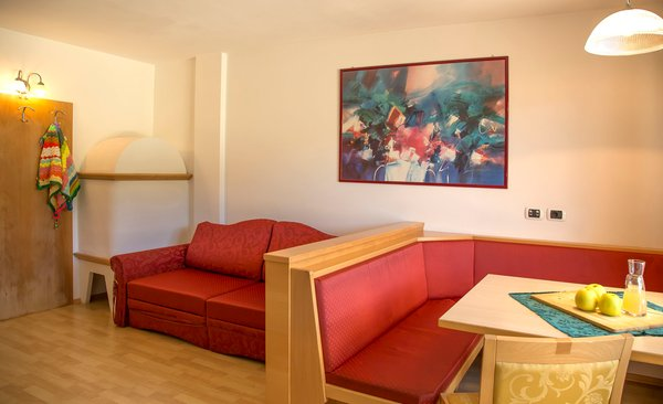 The living area Apartments in hotel Winklwiese