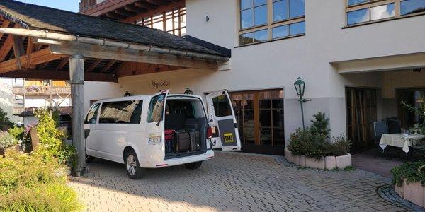 Präsentationsbild Taxi Uli Dolomites