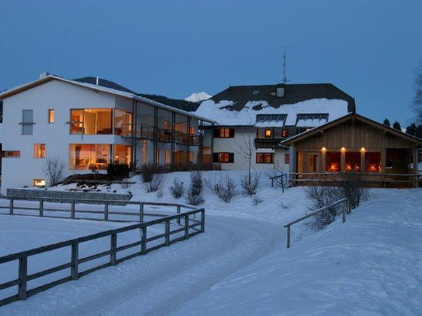 Foto esterno in inverno Tolderhof
