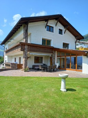 Foto esterno in estate Haus Waldner