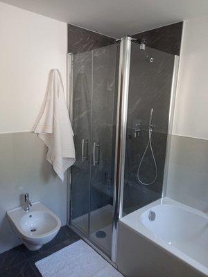 Foto del bagno Appartamenti Haus Waldner