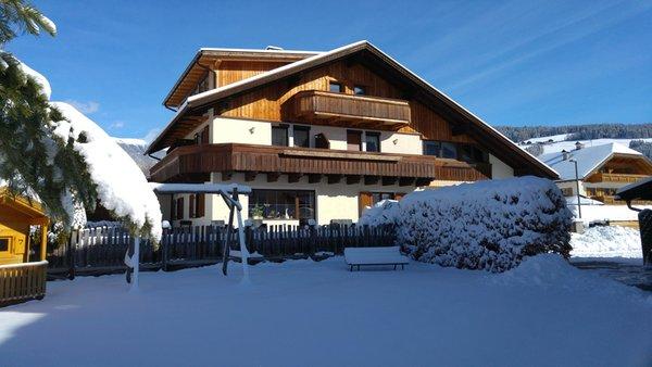 Foto invernale di presentazione Camere con prima colazione Haus Grüner