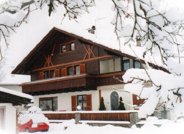 Foto esterno in inverno Haus Grüner