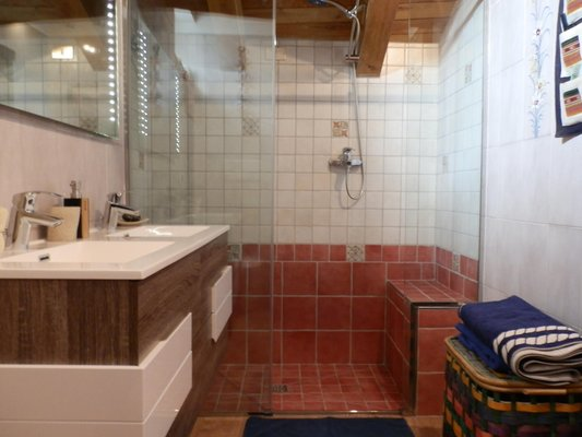 Foto del bagno Appartamento Mont Blanc Top Floor
