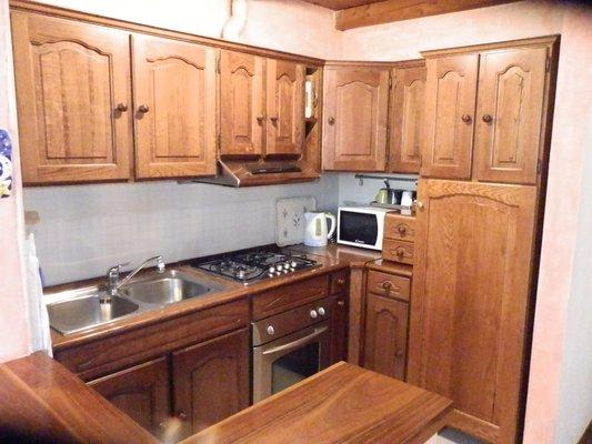 Foto della cucina Mont Blanc Top Floor
