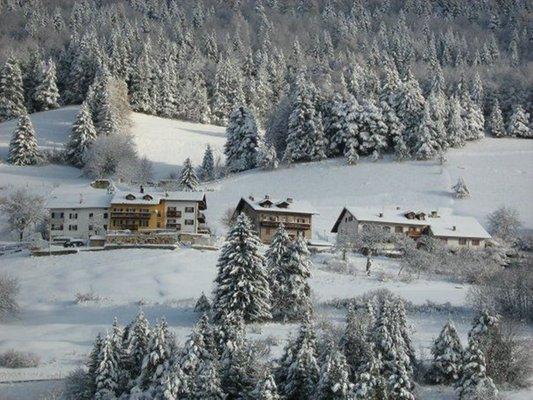 Foto invernale di presentazione Appartamenti Haus Toller