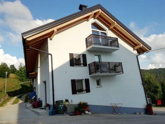 Foto esterno in estate Haus Toller