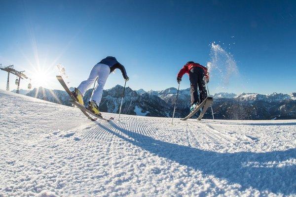 Winter activities Plan de Corones / Kronplatz