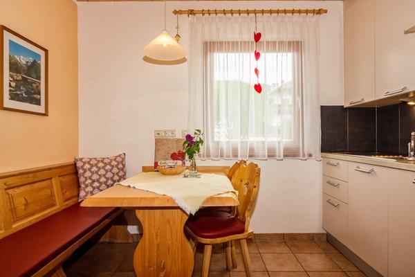 La zona giorno Appartamenti in agriturismo Liebharterhof