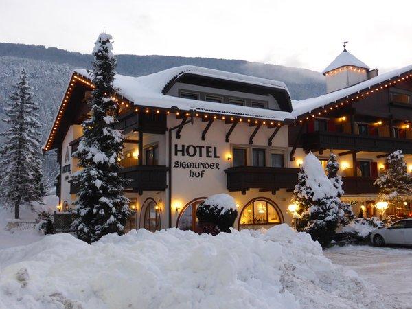 Winter presentation photo Hotel Sigmunderhof