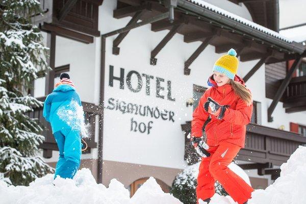 Photo exteriors in winter Sigmunderhof