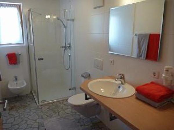 Foto del bagno Appartamenti Abfalterer